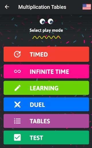 Multiplication Tables - Free Math Game  screenshots 2