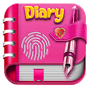 Diary with lock - My journal, Personal Diary App