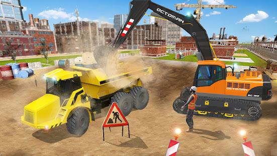 Excavator Construction Simulator: Truck Games 2021 1.5 screenshots 4