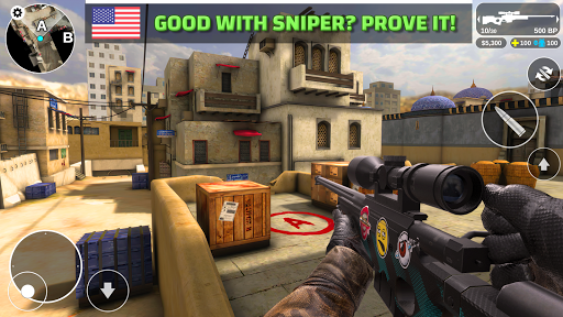 Code Triche Counter Attack - Multiplayer FPS (Astuce) APK MOD screenshots 4