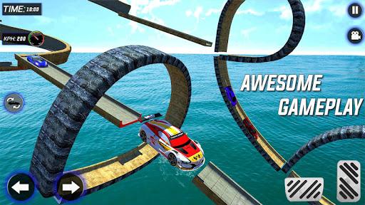 Extreme Mega Ramp GT Car Stunts- New Car Game  Screenshots 7