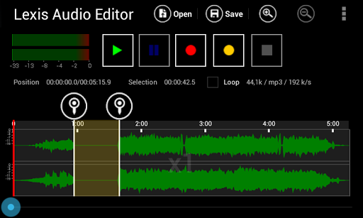 Lexis Audio Editor Apk 1
