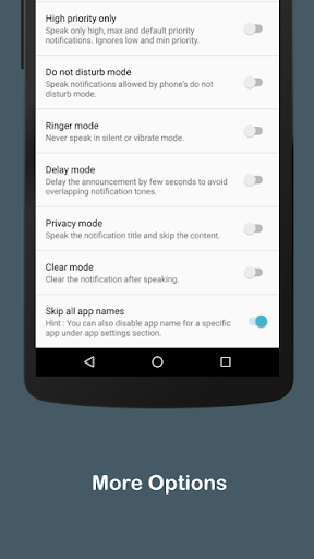 Audify Notifications Reader 3.5.0 Screenshots 11