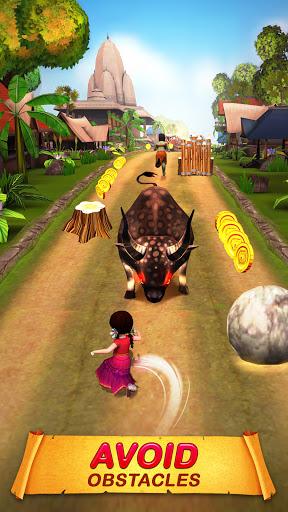Little Radha Run - 2021 Adventure Running Game apkpoly screenshots 1