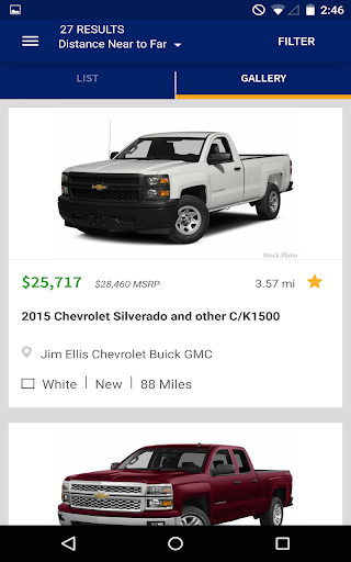 autotrader - shop used cars for sale near you screenshot 2