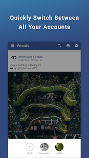Friendly Social Browser Screenshot