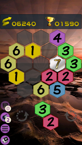 Get To 7, merge puzzle game - tournament edition.  screenshots 6