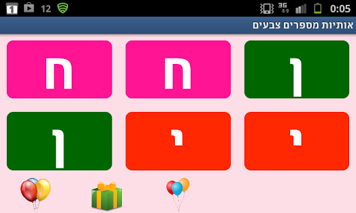 Hebrew Letters Numbers Free