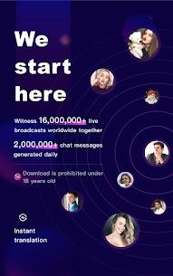 FaceCast 2.5.85 MOD APK – Make New Friends – Meet & Chat Livestream 7