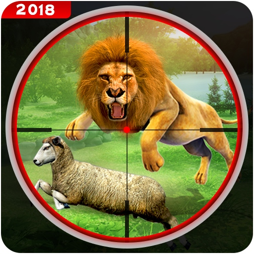 Hunting Animal Sniper Shoot - Safari Lion Hunter