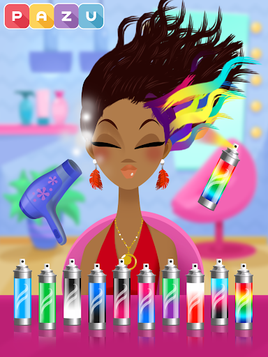 Girls Hair Salon - Hairstyle makeover kids games 2.95 screenshots 14