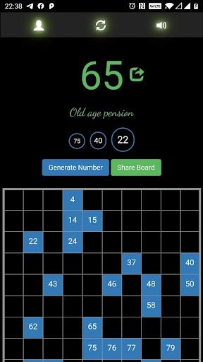 tambola number generator screenshot 1