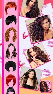 Hairstyle Camera Beauty : Hair Changer Photo Edit 1.2 Screenshots 1