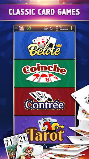 VIP Belote - French Belote Online Multiplayer 3.6.39 screenshots 2