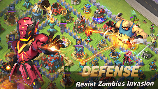 Clash of Glory  Project Zombies-Rise of Heroes Apk Download 2