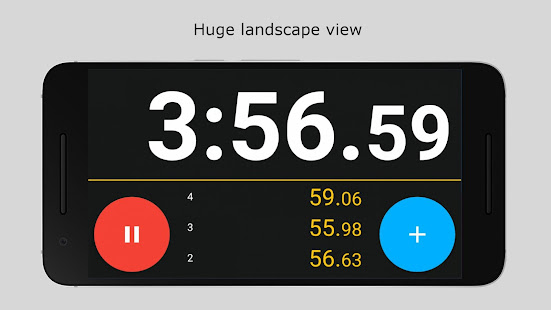 Stopwatch 2 - Advanced  lap timer for Android