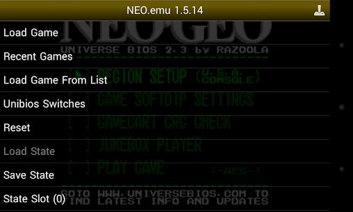 NEO.emu Mod Apk 1.5.51 (Mod/Paid) 1
