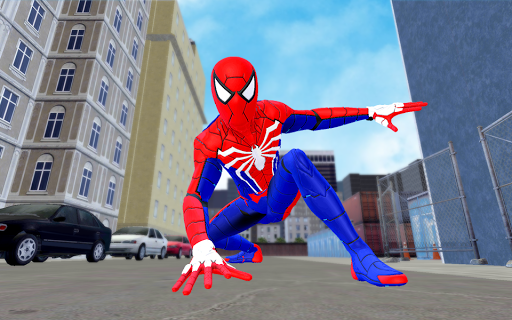 Spider Hero Fight Gangster Rope Battle Crime City 3.0 screenshots 5
