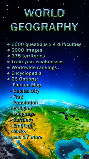 World Geography - Quiz Game 1.2.121 Screenshots 1