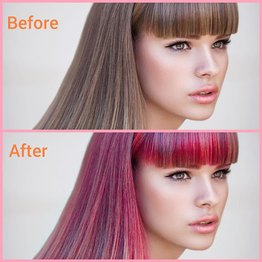 Hair color changer - Try different hair colors 1.10 Screenshots 1
