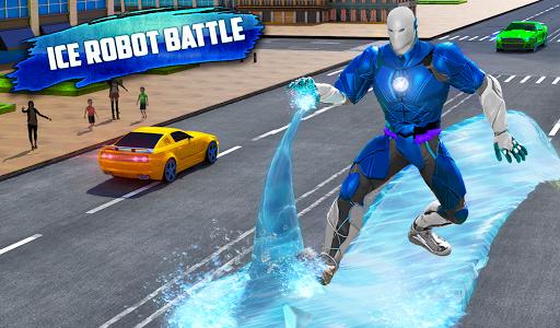 Flying Police Robot Snow Storm Hero: Crime City 6.0.0 Screenshots 7