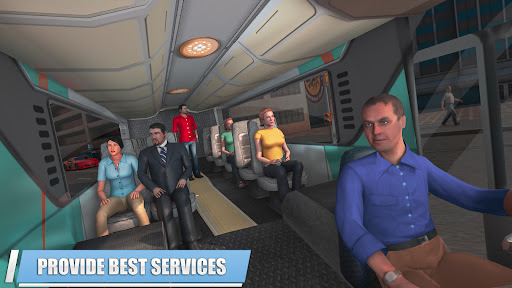 City Coach Bus Simulator 3D Apkfinish screenshots 4