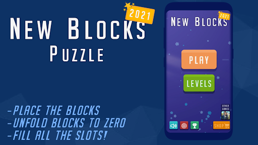 New Blocks - Folding Puzzle modiapk screenshots 1