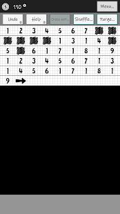 The Numzle - un puzzle di numeri Schermata