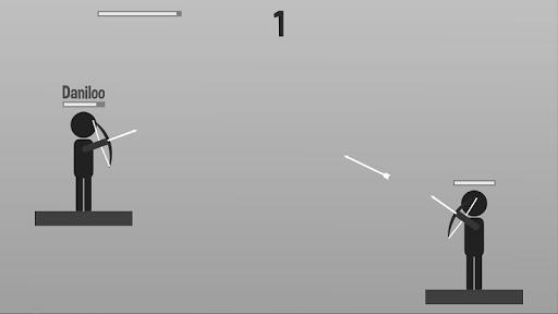 stickman archer: archer vs archer screenshot 2