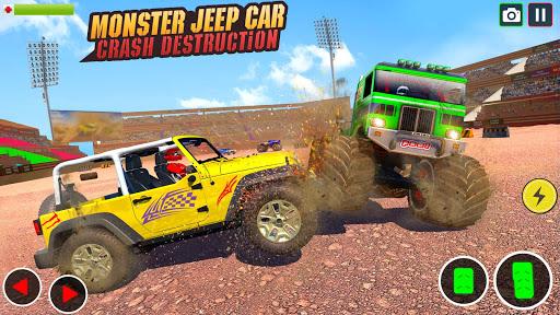 Demolition Derby Prado Jeep Car Destruction 2021 1.4 Screenshots 2