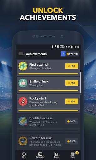 Sports Betting Game - BETUP  screenshots 6