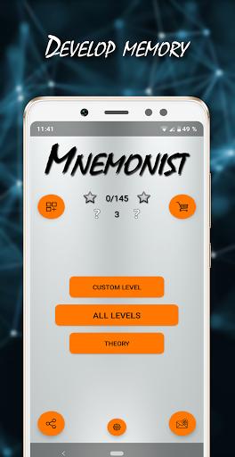 Mnemonist - Memory And Brain Training 1.8.1 screenshots 1