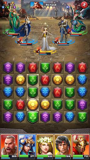 MythWars & Puzzles: RPG Match 3 2.3.1.3 Screenshots 13