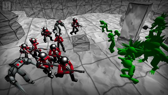 Battle Simulator: Stickman Zombie 2