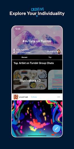 Tumblr - Home of Fandom Apkfinish screenshots 2