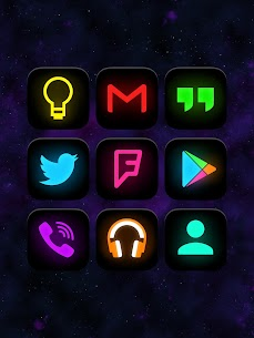 Neon Glow – Icon Pack 8.7.0 APK + MOD Download 1