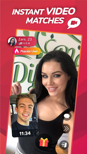 WHO - Live video chat & Match & Meet me screen 0