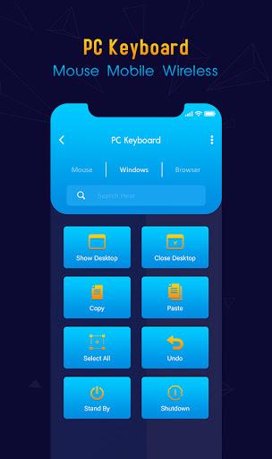 Foto do PC Keyboard & Mouse Wireless : remote control PC
