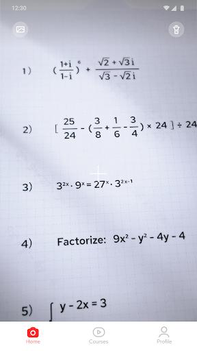 Gauthmath - Talk to a math tutor now! android2mod screenshots 1