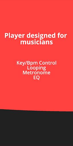 BACKTRACKIT: Musicians' Player 9.6.5 Screenshots 4
