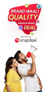 Snapdeal Shopping App -Free Delivery on all orders Latest Mod Apk 7.4.1 (Unlocked) 1