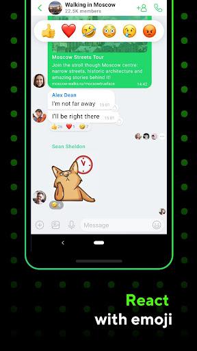 ICQ Messenger: Video Calling App & Chat Rooms 9.15.1(824727) screenshots 1
