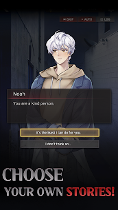 Havenless – Your Choice Otome Thriller Game Mod Apk 1.4.7 (Free Diamonds) 5
