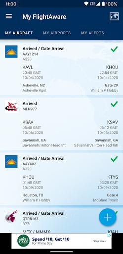 FlightAware Flight Tracker 5.6.6 Screenshots 2