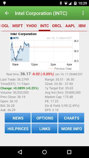Foto do Stock Quote