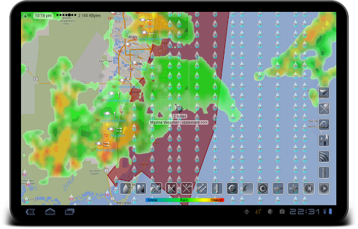 Weather app & widget with barometer: eWeather HDF  Screenshots 15