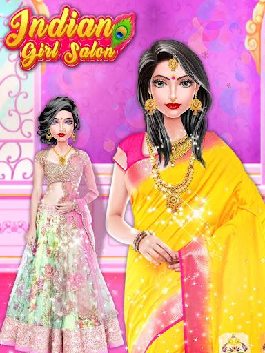 Indian Girl Salon - Indian Girl Games 1.0.4 Screenshots 8