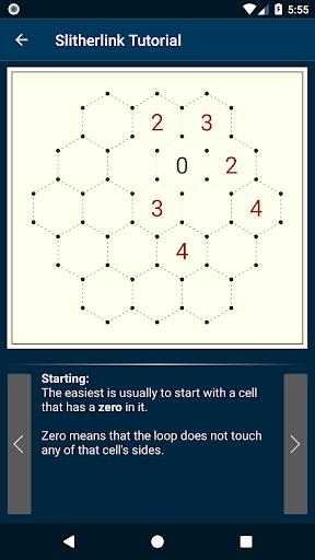 slitherlink screenshot 1