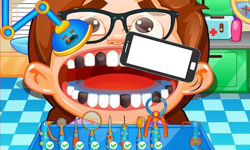Fun Mouth Doctor, Dentist Game apktram screenshots 4