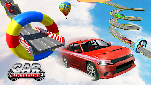 Car Stunt Racing - Mega Ramp Car Jumping screenshots 4